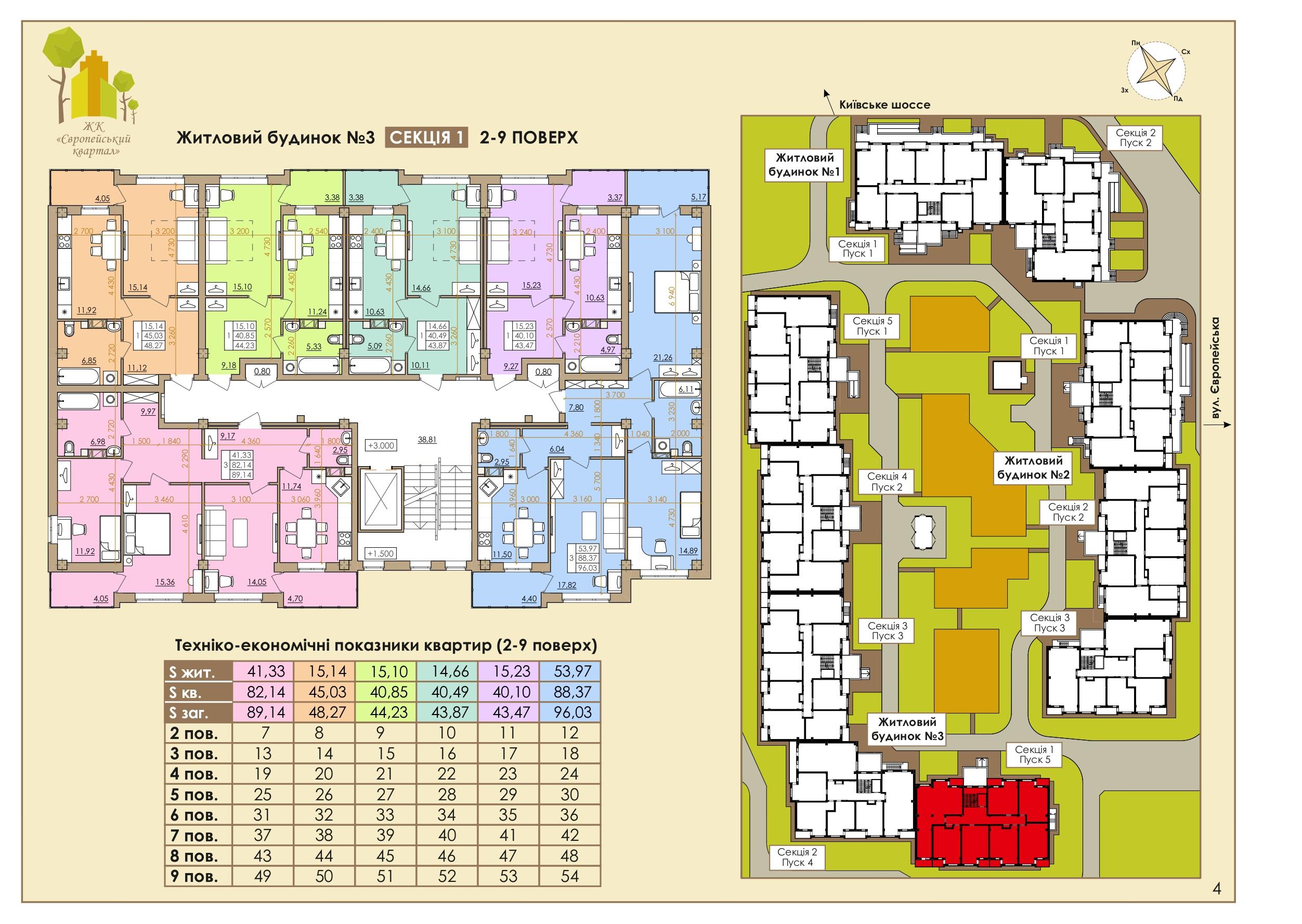 Европейская 146Е (3 Дом) 1 Подъезд 2-9 Этаж
